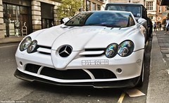 Mercedes SLR McLaren 722s (Jack de Gier) Tags: mercedes slr mclaren 722s edition white london uk mayfair knightsbridge limited exotic supercar hypercar horsepower luxury themayfairhotel greenpark berkeley sportscar worldcars