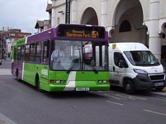 IB 93 (X93 LBJ) Route 15a, Dogs Head Street, Ipswich 13-07-16 (APB Photography) Tags: ipswichbuses dogsheadstreet 93 x93lbj dennisdart spryte