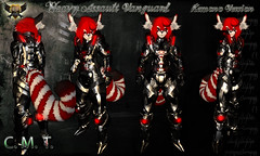 EC-Heavy Assault Vanguard Black kemono (EC-Eleran's Craft) Tags: ec eleran crafts secondlife sci fi armor suit outfit fantasy robot mecha heavy assault trooper soldier futuristic warfare furry kemono neko