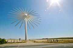 IMG_1874-Bouin's Wind Turbine-1024px (aurelienye) Tags: timestack france landscape sky paysage industriel industrial vendee maraisbreton energy wind windturbine eolienne fra