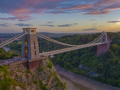 Moments that I wish could last longer (Wizard CG) Tags: clifton suspension long exposure landscape epl7 england architecture ed bristol ngc world trekker micro four thirds 43 m43 olympus mzuiko digital tourist attraction outdoor bridge hdr longexposure sunset skyline