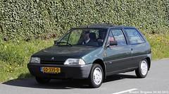 Citron AX 4x4 1992 (XBXG) Tags: auto old france holland classic netherlands car mobile french automobile 4x4 nederland 4wd citron voiture 1992 frankrijk ax paysbas ancienne 2015 vijfhuizen franaise citromobile citro citronax sidecode9 gd335d