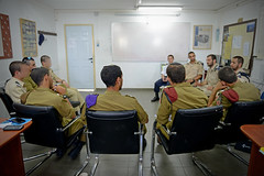 Navy, Airforce & Infantry Cadets Meet in a Unique Workshop (Israel Defense Forces) Tags: infantry navy soldiers airforce idf