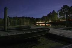 (Hoot Owl Photography) Tags: light lake cars love water glass 35mm river stars boats lights still dock nikon jon nightshot tail trails floating sealife nighttime galaxy passion marsh brackish d5000