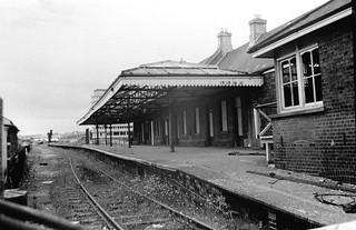Barnstaple Town station (1), 1973