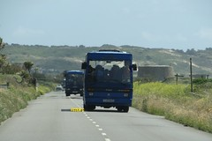 Tantivy trio (Coco the Jerzee Busman) Tags: uk blue bus islands coach camo renault cannon jersey swift dennis tours dart channel leyland lcb plaxton tantivy