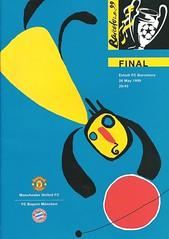 Manchester United v Bayern Munich 19990526 (tcbuzz) Tags: barcelona camp final uefa league nou champions programme