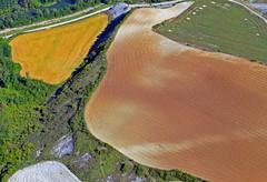 abstracto aereo. (Luis M) Tags: paisaje abstracto navarra vistaarea