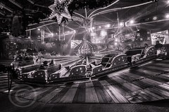 London Nov 2015 (7) 094 - Winter Wonderland in Hyde Park (Mark Schofield @ JB Schofield) Tags: park christmas street city winter england white black london monochrome canon fairground carousel hyde oxford rides nightlife wonderland stalls 5dmk3