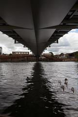Under the bridge (KevPBur) Tags: shadow thames river dark reading underside berkshire beneath canon650d canonefs18135mmf3556isstm canonrebelt4i christchurchbridge canonkissx6i canon650dcanonkissx6icanonrebelt4i