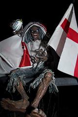 EDDIE LOVES ENGLAND! (Venvierra @ GothZILLA Photography) Tags: gothzillaphotography canon 600d canon600d eos canoneos canoneos600d eddie ironmaiden england ironmaidenseddie rugby flag englandrugby mascot