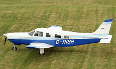 G-RIGH Piper PA-32P Saratoga 301HP (David Russell UK) Tags: grigh piper pa32 pa32r saratoga aircraft aeroplane airplane vehicle transport flying aviation peterborough business airport conington egsf