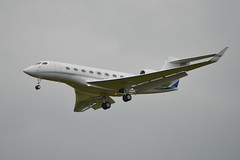 Gulfstream G650 N650PA (D.Morris Photography) Tags: london airport luton gulfstream g650 n65opa