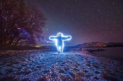 (Bronte Lockwood) Tags: wanaka light painting travel new zealand lake