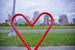 David Lam Park in Yaletown (GoToVan) Tags: park art heart yaletown falsecreek davidlam