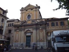 Rome: Trastevere, glise Sant' Agata (vincentello) Tags: rome trastevere glise santagata