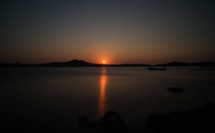 Devilish Sunset (Just Ron ;)) Tags: seytansofrasi sarimsakli ayvalik turkey trkiye imageron sunset gne