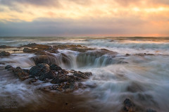 Thor's Well, Oregon (Joaquin James Javier) Tags: sunset seascape oregon rocks waves hole well cape perpetua yachats thors