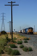UP LRJ88 at Canon (CN Southwell) Tags: up union pacific local freight lrj88 vacaville california
