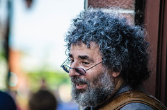 Character(Explored) (Kat Hatt) Tags: kingston on canada kathatt portrait candid curlyhair happy cool glasses beard f64g77r2win fotocompetitionbronze fotocompetitionsilver