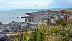 Round Wales Walk 40 - Pebble Beach (Nikki & Tom) Tags: walescoastpath wales ceredigion uk beach pebbles bay coast sea