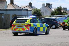 Security for the PM. (aitch tee) Tags: security heddludecymru policevehicles newpmsvisit walesuk 18july2016 cardiffairport vipvisitor