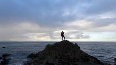 The striking hexagonal basalt rock formations of Giant's Causeway in Northern Ireland, UK (albatz) Tags: giantscauseway ireland uk rockformations basalt