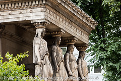 Statues at St Pancras Parish Church (Philip Pound Photography) Tags: london church parish camden stpancras eustonroad