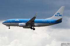KLM --- Boeing 737-700 --- PH-BGO (Drinu C) Tags: adrianciliaphotography sony dsc hx100v lhr egll plane aircraft aviation klm boeing 737700 phbgo 737