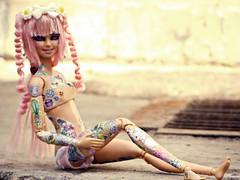 Grey Street ( Psycho ) Tags: pink boy cute doll barbie kawaii crossdresser 2016 neropsych