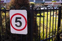 Speed Limit (Markus Jaaske) Tags: australia blackheath bluemountains fence hotel ivanhoe lawn newsouthwales restaurant shops shrubbery sigmadp2merrill speedlimit sunny