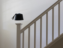 fez light (MyArtistSoul) Tags: fez flat banister stairs railing wall stark lines parallelograms geometric simple minimal 7247