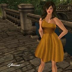 Nora - Amber (Glitterati by Sapphire) Tags: glitteratibysapphire sapphireteebrook secondlife secondlifefashion sapphireteebrookglitteratibysapphiresapphireteebrookgownsredcarpetgownskirtlacesilk mesh minidress maitreyameshbody slink belleza