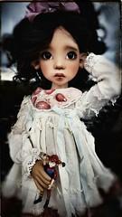 A darker side. (I am!!) Tags: laryssa kazekid bjd kayewiggs kaye wiggs msd ooak modded meadowdolls faceup beautiful doll balljointdolls layla