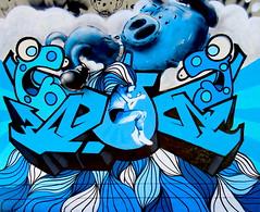 Sunday 21st August (janie.d (urban burbler)) Tags: streetphotography streetarturbanartgraffitirgor innerwest dirty wall graffporn paint bomb paste art artists krispe nevsety newtown