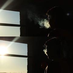 Smoke (giuseppesanguedolce) Tags: sun fumo photo smoke