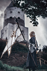 Fate/Grand Order - Jeanne d'Arc Cosplay (izlomdoc) Tags: girl cosplay dark fate grand order nikon d700 50mm f14g