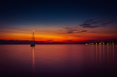 Petrcane sunset (alex.salt) Tags: adriaticsea croatia eurotrip201608 petrcane evening landscape longexposure outdoor public sky sunset pentaxk5 smcpentaxda1855mmf3556alwr 375mm