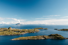 Lovund from the top of Trna (dataichi) Tags: nordland norway nature landscape scandinavia outdoors travel tourism destination islands ocean