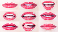 L's L's (JoshuaChristianPhotography) Tags: lips people photography photo pink red mouth teeth tounge american art fashion model nola makeup studio