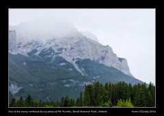 One of the many northeast facing peaks of Mt. Rundle, Banff National Park, Alberta (kgogrady) Tags: landscape summer banff alberta canada ab 2016 clouds canadianmountains canadianrockieslanscape canadiannationalparks canadianlandscapes banffnationalpark canadianrockies fujifilm fujinon morning mountain nopeople mountrundle noone mtrundle parkscanada westerncanada picturesofalberta photosofmtrundle photosofbanffnationalpark xf55200mmf3548ois photosofalberta picturesofmtrundle peaks xt1 picturesofbanffnationalpark rockymountains trees rocky rockies