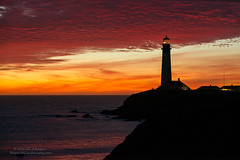 The Lighthouse (Darvin Atkeson) Tags: pigeon point lighthouse fire sky santacruz sanfrancisco california coast beach pacific ocean sea tide surf salt fresnel lens darv darvin atkeson lynneal yosemitelandscapescom