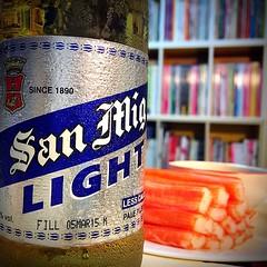 ส่งท้าย 6 วันที่ไบเทค คืนนี้ขอนอนยาววววว~ #sanmig #beer
