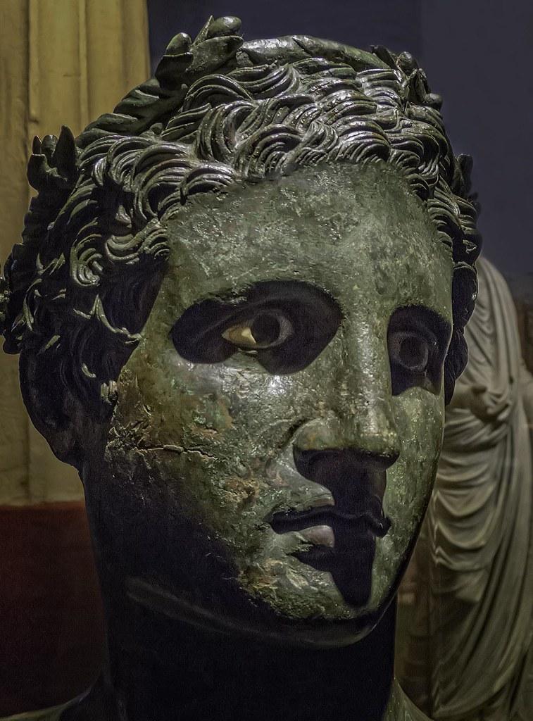 Bronze head of Ptolemy...