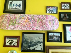 JAWSO Skateboard (MaxTheMightyy) Tags: streetart art graffiti stickers collection claw jaws skateboard usps graff curve base pms curveball 228 bluetop slaps clawmoney stickergraffiti baser customskateboard bluetops pmscrew jawso juniorpromgang jrpromgang