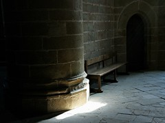 Mont Saint-Michel Abbaye Le banc (JMVerco) Tags: montsaintmichel normandie lumière light luce banc bench panchina flickrchallengegroup