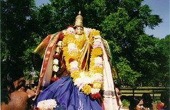 Festival image (utsava murti) of Lord Vishnu (Inverness, FL)