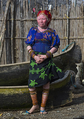 Panama, San Blas Islands, Mamitupu, Portrait Of An Albino Kuna Tribe Woman (Eric Lafforgue) Tags: portrait people woman color latinamerica vertical mystery outdoors photography necklace clothing community women colorful day adult native indian fulllength culture jewelry tribal jewellery albino bead panama tribe blondehair youngadult ethnic cultures vacations beaded adultsonly kuna archipelago indigenous centralamerica customs ethnicity onepeople panamanian lifestyles headwear ecotourism ethnology indigenouspeople cuna guna traditionalclothing traveldestinations onewomanonly kunayala albinism kunas oneyoungwomanonly sanblasislands 1people bodyadornment palecomplexion mamitupu embroideredtextile kunatribe panama568