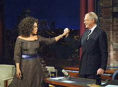 Oprah on Late Show with David Letterman (2005) (rds323) Tags: oprah davidletterman lateshowwithdavidletterman oprahwinfrey
