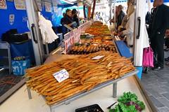 Smoked shes (Michiel2005) Tags: fish holland netherlands market nederland dordrecht markt vis smokedfish viskraam gerooktevis